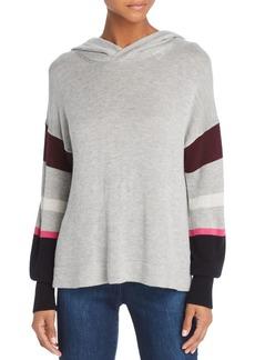 Splendid Color-Block Hooded Sweater