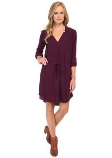 Splendid Convertible Sleeve Shirt Dress