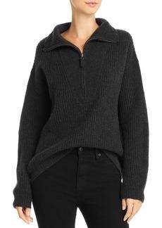 Splendid Cooper Half-Zip Sweater
