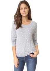 Splendid Corrine Polka Dot Sweatshirt