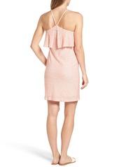 Splendid Cotton & Linen Popover Dress
