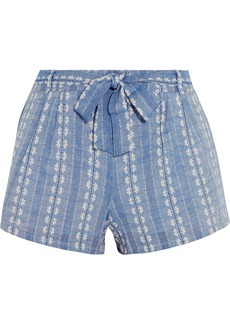 Splendid Cotton-jacquard shorts