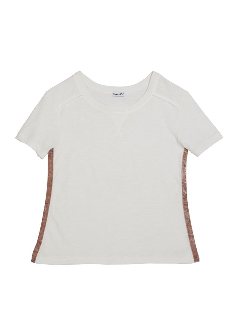 Splendid Cotton Slub Short-Sleeve Tee  Size 7-14