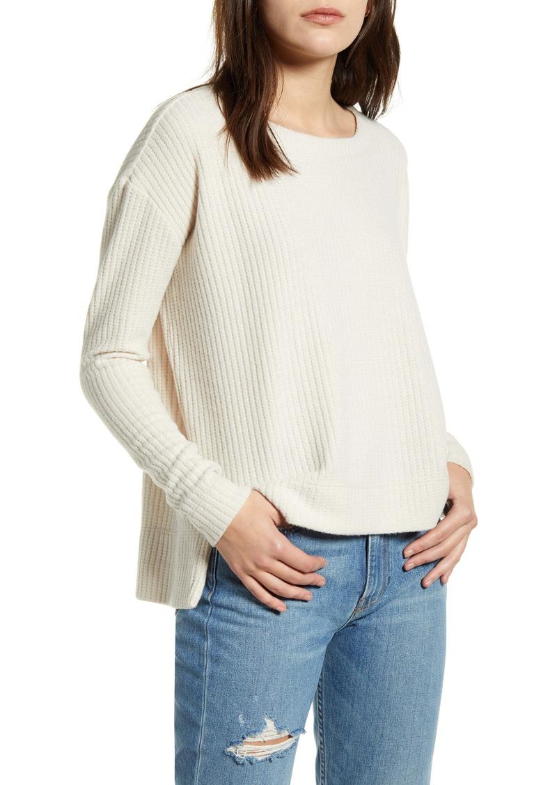 Splendid Crestone Waffle Knit Shirt