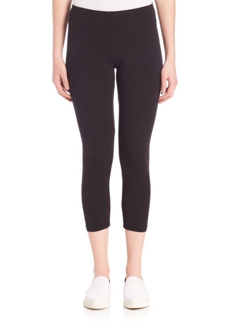 Splendid Cropped Stretch Cotton Leggings