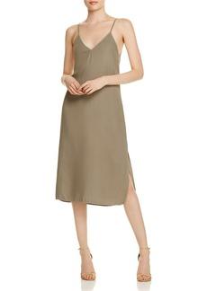 Splendid Crosshatch Slip Dress