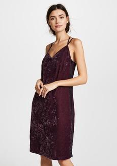 Splendid Crushed Velvet Dress