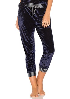 Splendid Crushed Velvet Jogger