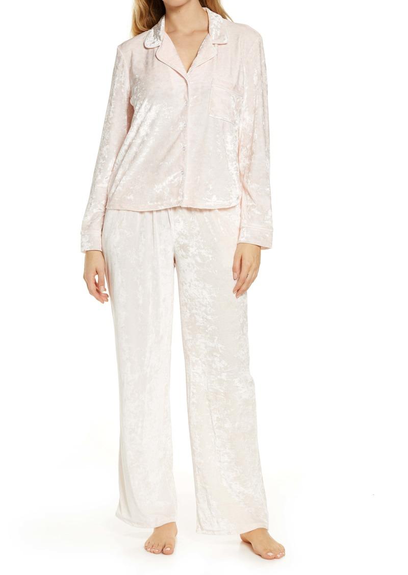 Splendid Crushed Velvet Pajamas