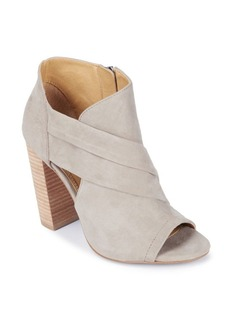 Splendid Dacia Suede Open Toe Booties