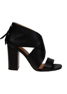 Splendid Danett Textured Leather Sandals