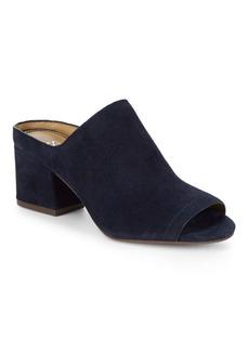 Splendid Danica Suede Block-Heel Mules
