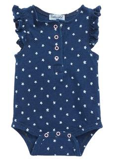 Splendid Dark Stone Indigo Bodysuit (Baby Girls)