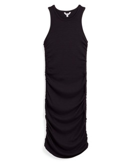 Splendid Delta Rib Ruched Tank Dress