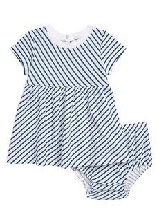 Splendid Diagonal Stripe Dress (Baby)
