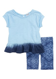 Splendid Dip Dye Top & Leggings Set (Baby Girls)