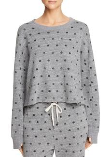 Splendid Dot-Print Sweatshirt