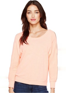Double Cut Out Pullover