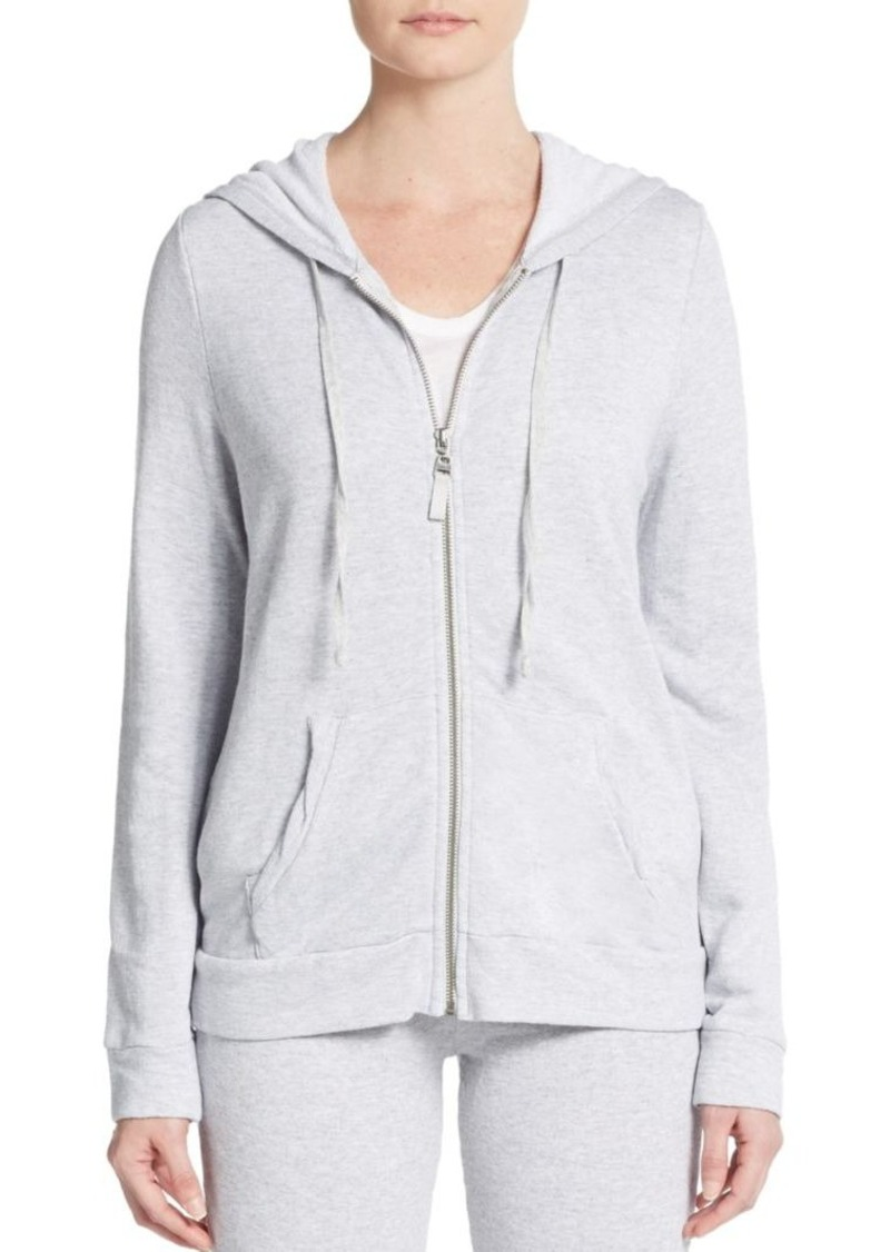 Splendid Drop-Shoulder Hooded Sweatshirt