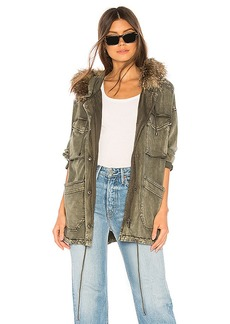 Splendid Dune Faux Fur Jacket