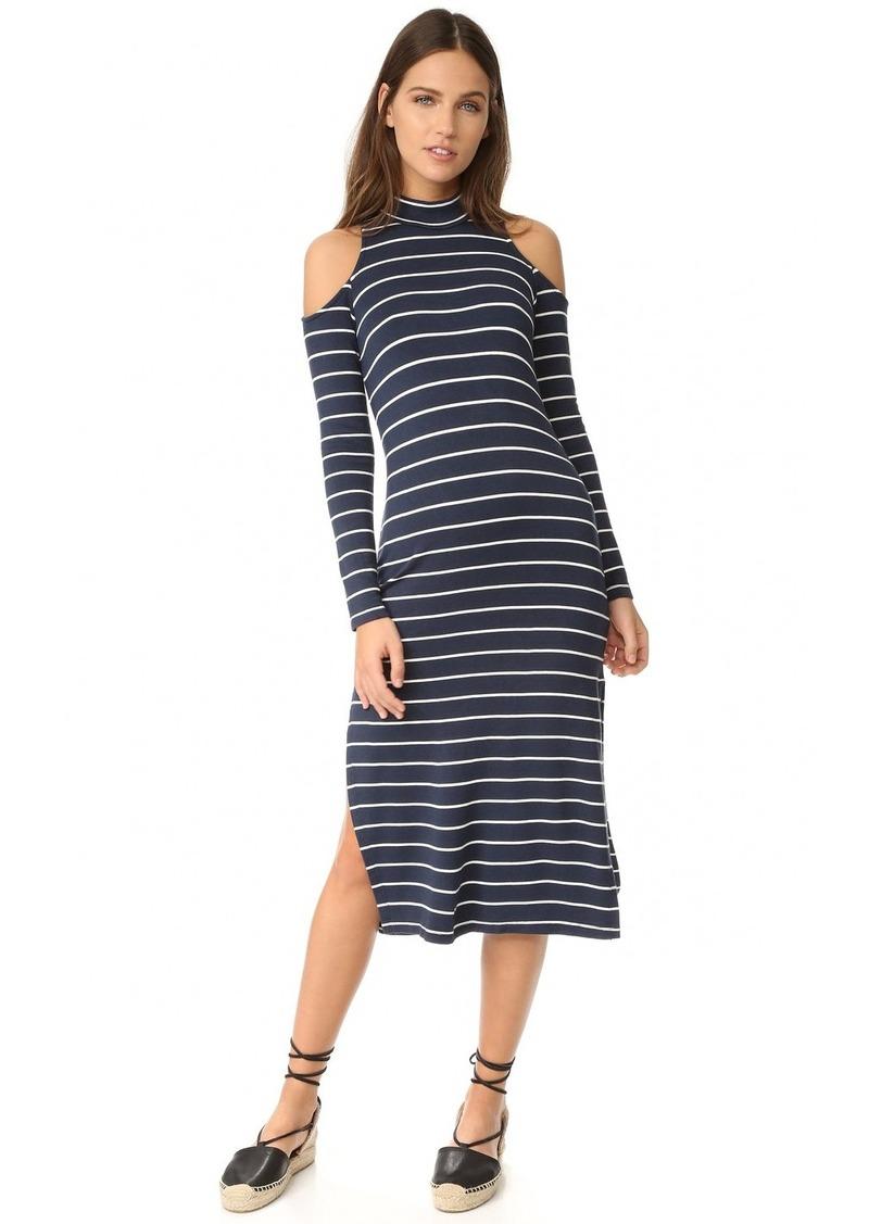 41ed14e942 Splendid Splendid Dune Stripe Cold Shoulder Dress