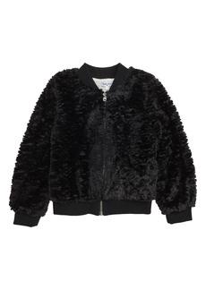 Splendid Faux Fur Jacket (Toddler Girls & Little Girls)