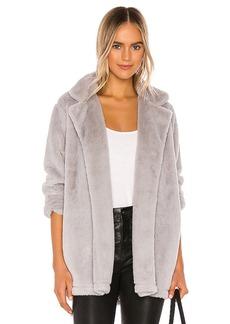 Splendid Faux Fur Sleep Jacket