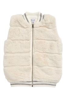 Splendid Faux Fur Vest (Toddler Girls & Little Girls)