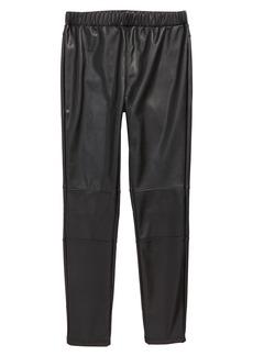 Splendid Faux Leather Leggings (Big Girls)