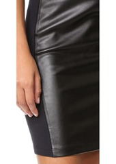 Splendid Faux Leather Skirt