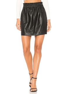 Splendid Faux Leather Skirt in Black. - size M (also in L,S,XS)