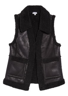 Splendid Faux Shearling Vest (Big Girls)