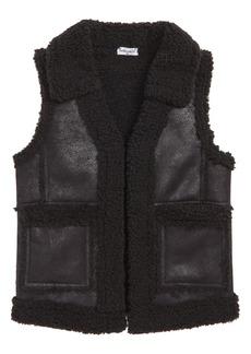Splendid Faux Shearling Vest (Toddler Girls & Little Girls)