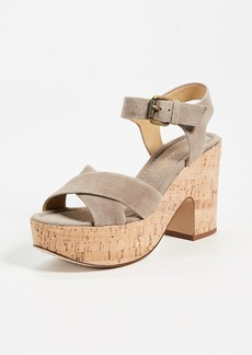 Splendid Flaire Cork Sandals