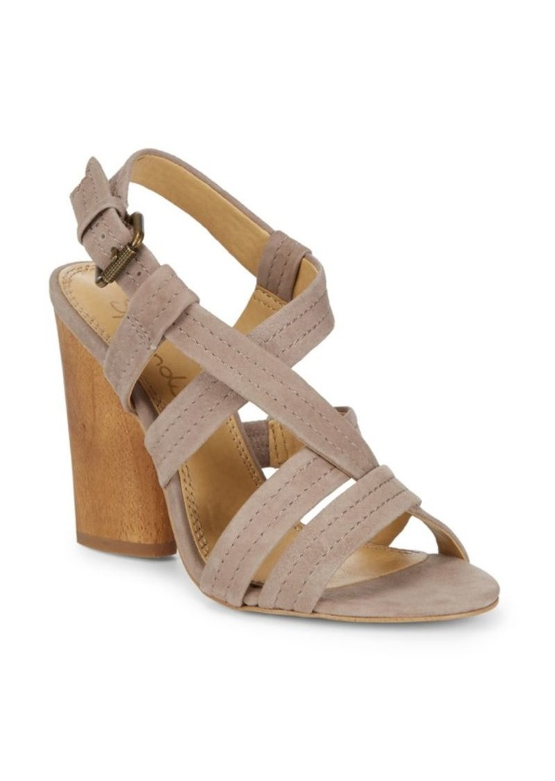 Splendid Flash Strappy Suede Sandals