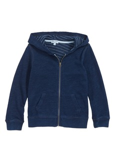 Splendid French Terry Indigo Hoodie (Toddler Boys, Little Boys)