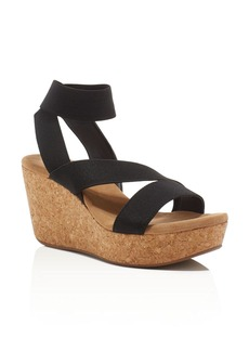 Splendid Gavin Cork Platform Wedge Sandals