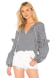 Splendid Gingham Top