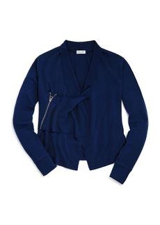Splendid Girls' Asymmetrical Wrap Sweater - Little Kid