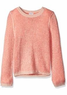 Splendid Girls' Big Sweater Strawberry ice