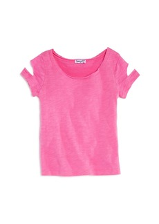 Splendid Girls' Cut-Out Tee - Little Kid