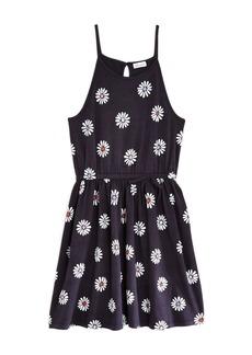 Splendid Girls' Daisy Print Fit-and-Flare Dress - Little Kid
