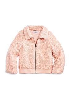 Splendid Girls' Faux Fur Textured Jacket - Little Kid