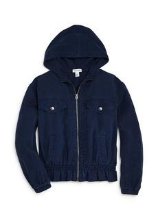 Splendid Girls' Hooded Twill Jacket - Big Kid