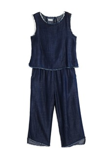 Splendid Girls' Layered-Look Jumpsuit - Big Kid