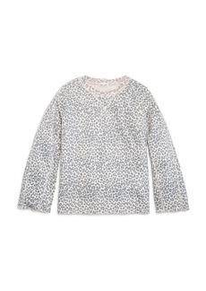 Splendid Girls' Leopard-Print Top, Big Kid - 100% Exclusive