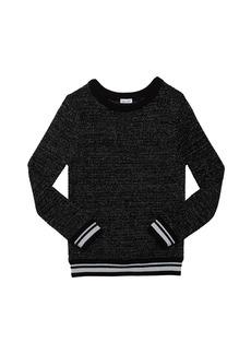 Splendid Girl's Lurex Knit Top  Size 7-14