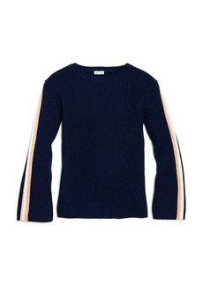 Splendid Girls' Sparkle Stripe Sweater - Big Kid