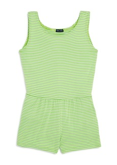 Splendid Girls' Striped Romper - Big Kid