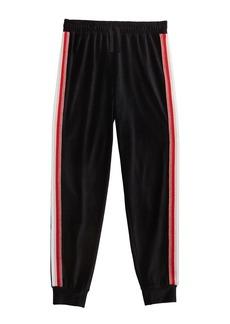 Splendid Girl's Velour Jogger Pants w/ Lurex Taping  Size 7-14